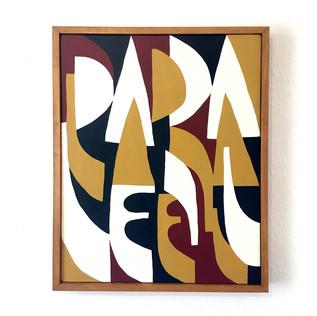 parallel / 40 x 50 cm