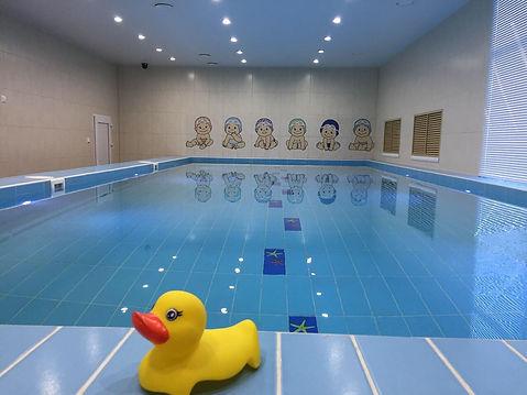 детский бассейн раннее плавание на оптиков 32а