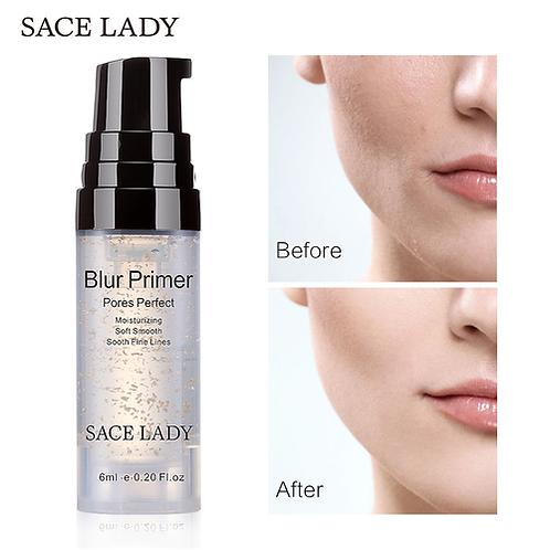 SACE LADY Blur Primer Makeup Base 6ml Face 24k Gold Elixir Oil Control