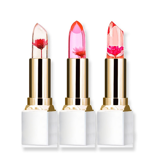 Wholesale Transparent Natural Red Lip Stick Temperature Color Change Long-lastin