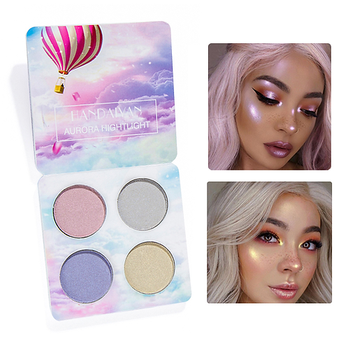 Brand Makeup Bright Light Eye Shadow Palette 4 Color The Nude Balm Minerals
