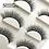 Thumbnail: New 3 pairs natural false eyelashes fake lashes long makeup 3d mink lashes