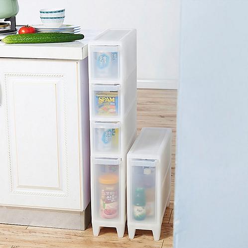 1PC Storage Drawer Make Up Organizer Kitchen Accessories Food Container Debris
