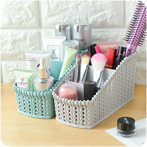 1Pc Office Multifunctional Multicolored Home Desktop Sundries Make Up Organizer