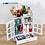Thumbnail: Europe Style Plastic Make Up Storage Organizer Eco-friendly Home Jewelry Box
