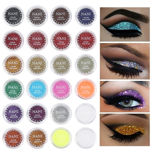 2nd 24 Colors Optional Monochrome Eye Powder Shadow Women Beauty Eye Make Up