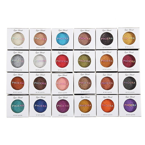 2nd Hot Fashion Makeup Eye Shadow Soft Glitter Shimmering Colors Eyeshadow