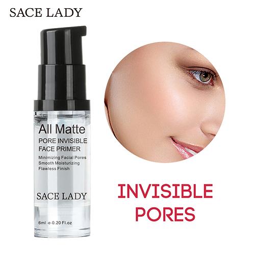 SACE LADY Face Base Primer Makeup 6ml Liquid Matte Make Up Fine Lines Oilcontrol