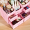 Thumbnail: HECARE Plastic Makeup Organizer Waterproof Cosmetic Container Jewelry Container