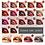 Thumbnail: PUDAIER Nude Sexy Lipstick Metallic Lip Gloss Long Lasting Pigment Matte Liquid