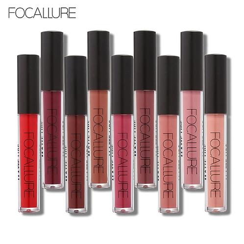 FOCALLURE US $1 Off Per US $2 Beauty Waterproof Matte Liquid Lipstick Smooth Lip