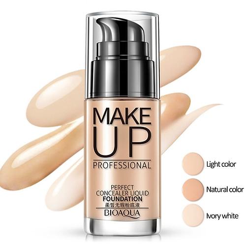 Face Foundation Makeup Base Liquid Foundation BB Cream Concealer Whitening
