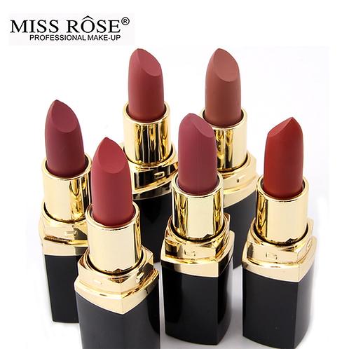 2nd Miss Rose brand batom 24color Nude Matte lipstick Matte Velvet Lipstick