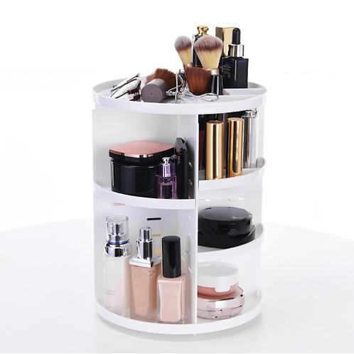 360-degree Rotating Makeup Organizer Brush lipstick Holder Jewelry essential oil