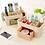 Thumbnail: Plastic Storage Box Makeup Organizer Case Drawers Cosmetic Display Storage