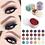 Thumbnail: 24 Colors Optional Monochrome Eye Powder Shadow Women Beauty Eye Make Up