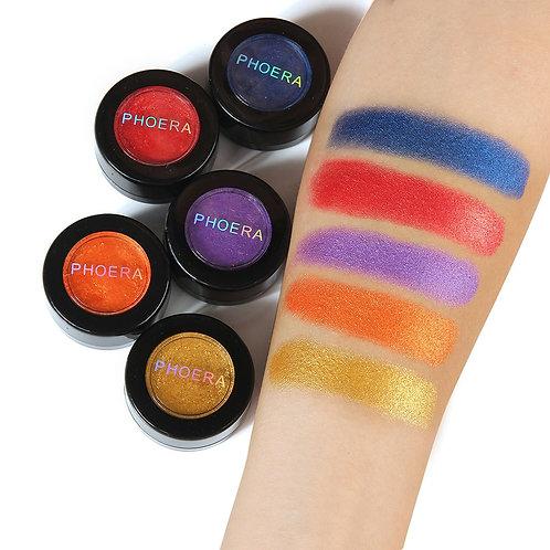 Hot Fashion Makeup Eye Shadow Soft Glitter Shimmering Colors Eyeshadow Metallic