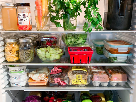 Fridge + Pantry Essentials AND Tips To Reduce Waste