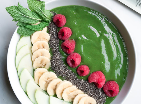 3 Quick + Easy Protein Packed Smoothie Bowls
