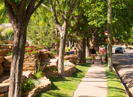 Springdale, Utah and Zion National Park