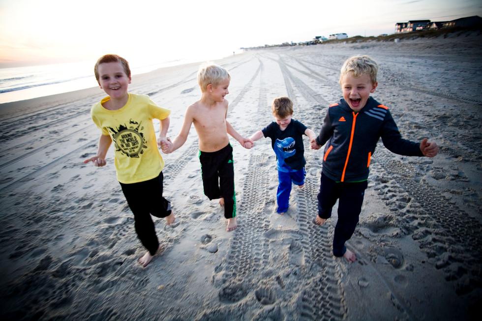 Beach Photography, Children