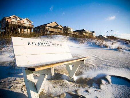 Atlantic Beach Snow Day