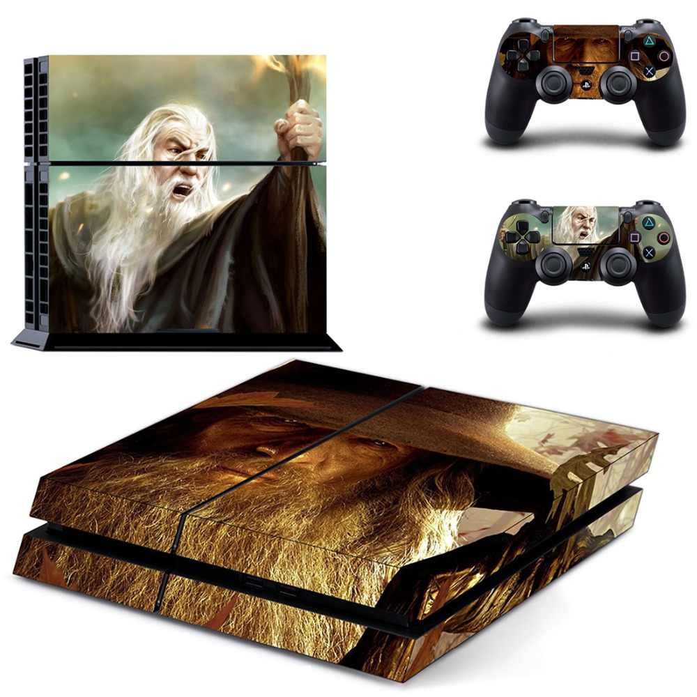 A PS4 skin showing a portrait of Gandalf from the Lord of the Ring
