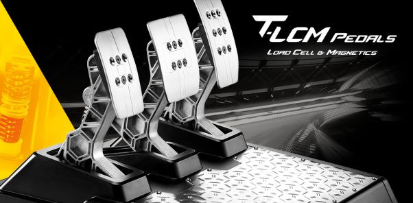 A photo of the three T-LCM pedals over their base.