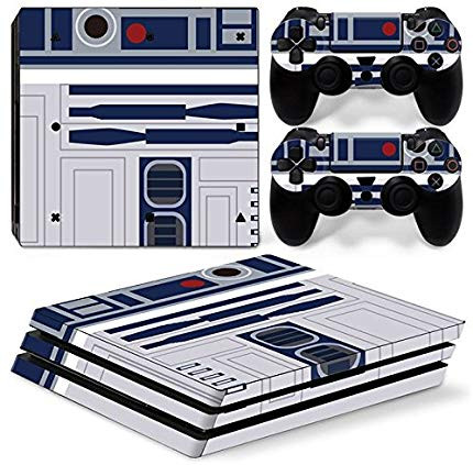 A ps4 skin that turns the console into R2-D2 from Star Wars