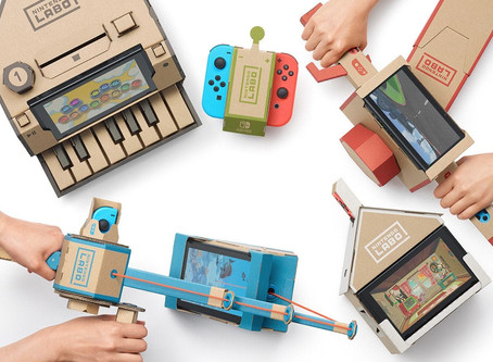 The full list of games that work with the Nintendo LABO