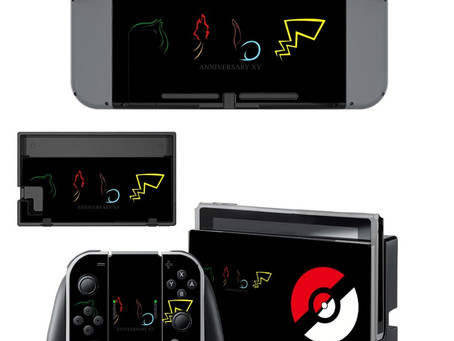 10 great gaming skins for your Switch (including Fortnite and Pokemon skins)