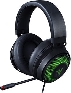 Premium wired headphone with a active noise cancelling mic.