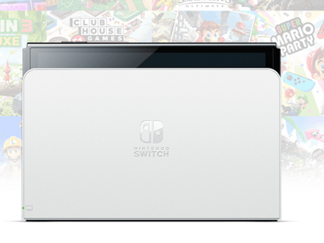 Is the dock of the OLED Switch different from the normal one?
