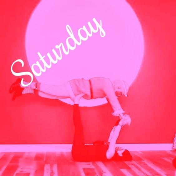 Saturday**Partner Yoga Fun Flow