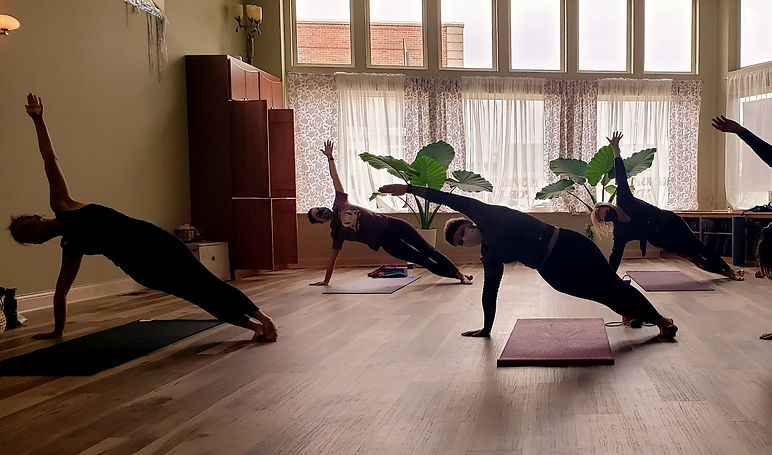 Side Plank yoga studio expanding
