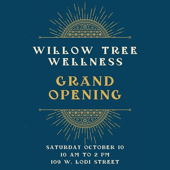 Willow Tree Wellness Grand Opening