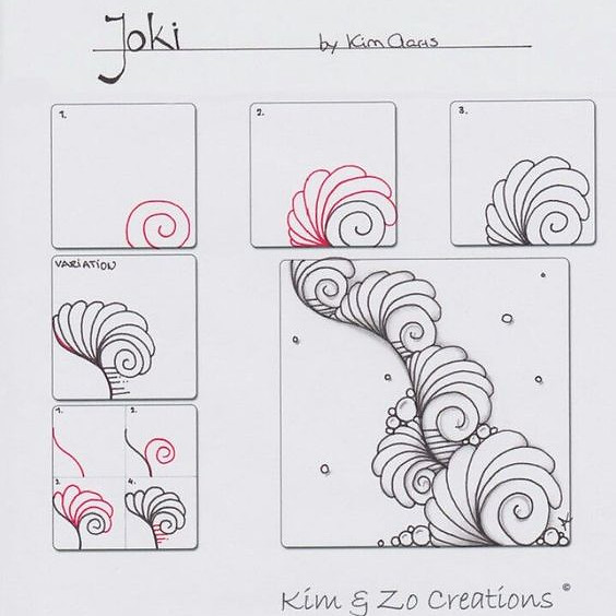 Creating Zentangles