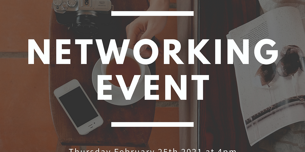 Networking Event (No RSVP Required)