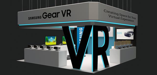 Samsung VR Exhibit Display