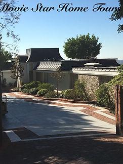 Elvis Presley celebrity home in Bevely Hills