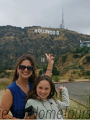 tourists above the Hollywood Bowl