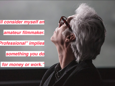 MovieMasters Monday #4: Jim Jarmusch.