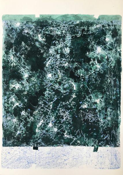 Sem título. 2020. Aquarela sobre papel. 70 x 50 cm