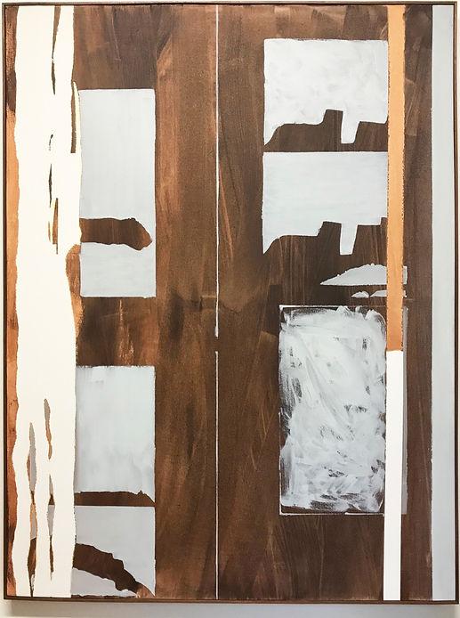 Sem título. 2019. Óleo sobre tela. 130 x 100 x 4 cm
