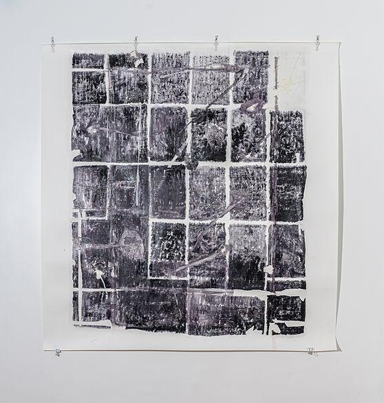 Ana Rey. Sem título. 2020. Série Estados Nebulosos. Aquarela e colagem sobre papel. Fotografia Luiza Lavorato.