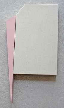 Sem título. Série Recortes. 2019. 51 x 27 x 4,5 cm
