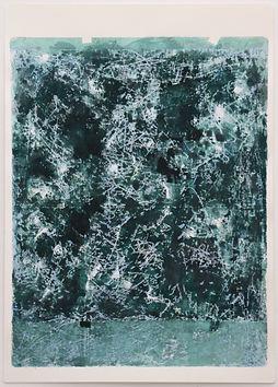 Sem Título. 2021. Série Estados Nebulosos. Aquarela sobre papel. 70 x 50 cm