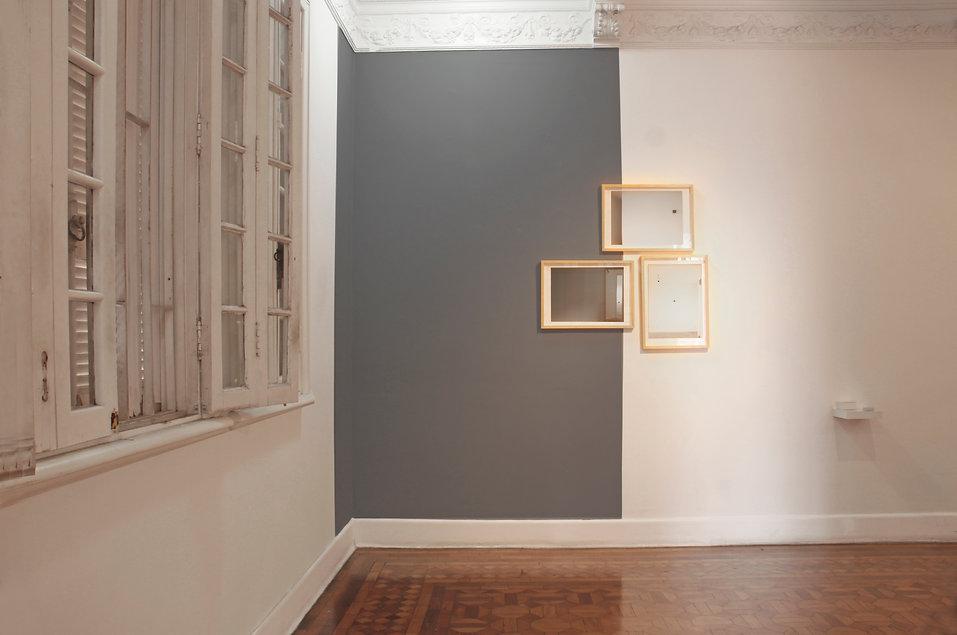 Ana Rey. Obra-Dobra - exposição individual - ABRA - 2011. Fotografia Beth Barone