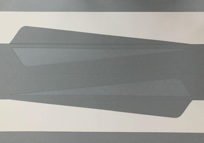 Sem título. 2020. Colagem sobre papel. 59 x 84 cm