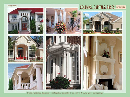 RESIDENTIAL Columns Capitals Bases gallery 2